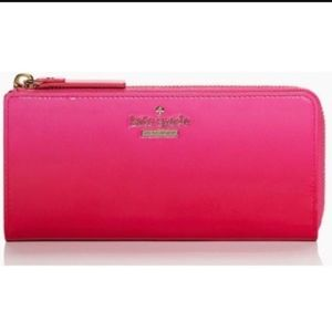 Kate Spade OMBRE PINK PATENT WALLET